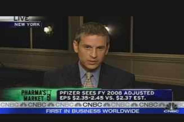 Pfizer's Urge to Merge