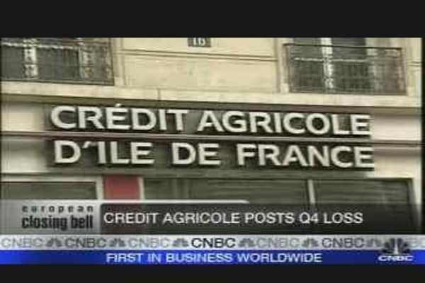 Credit Agricole CEO