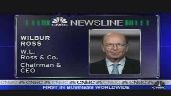 Wilbur Ross Reacts to Ambac