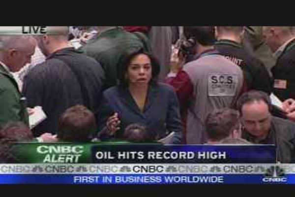 Oil New Record