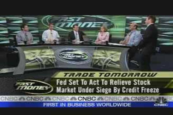 Tomorrow's Trades: The Fed