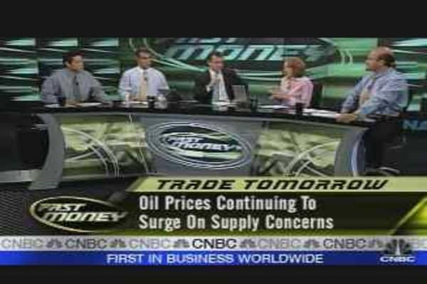 Tomorrow's Trades: Oil