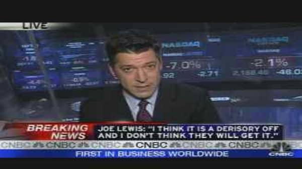 Breaking News: Joe Lewis