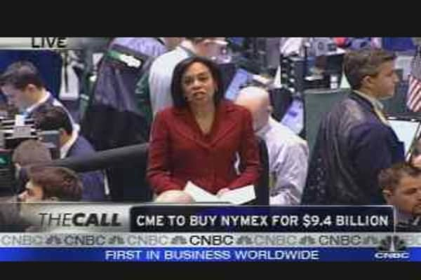 CME to Buy NYMEX