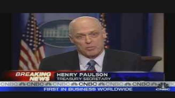 Treasury Secretary Henry Paulson