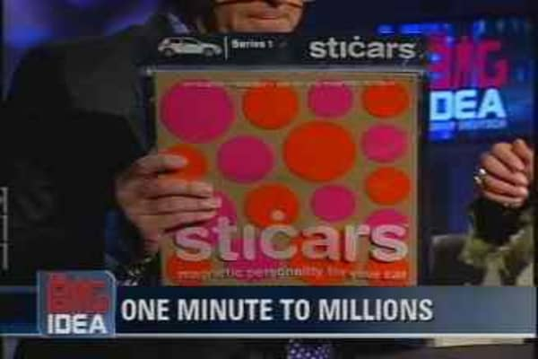 One Minute to Millions: Sticars