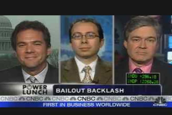 Bailout Backlash?