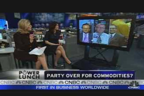 Party Over for Commodities