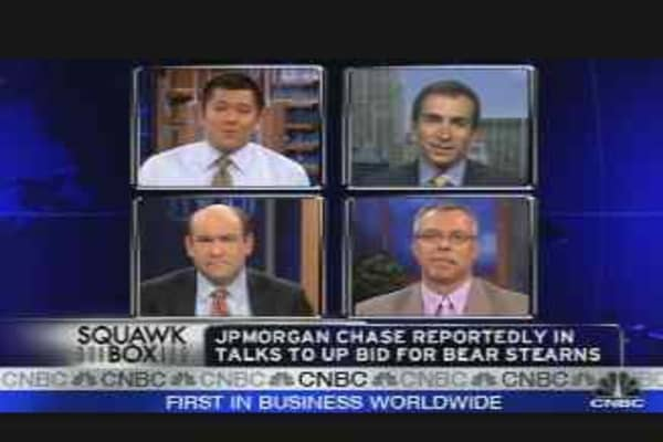 JPMorgan Bid for Bear