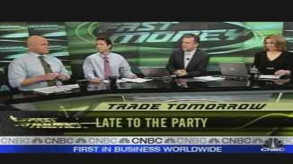 Tomorrow's Trades: Bottom Fishing
