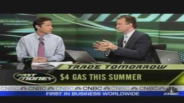 Tomorrow's Trades: Gasoline