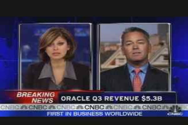 Oracle Earnings Results