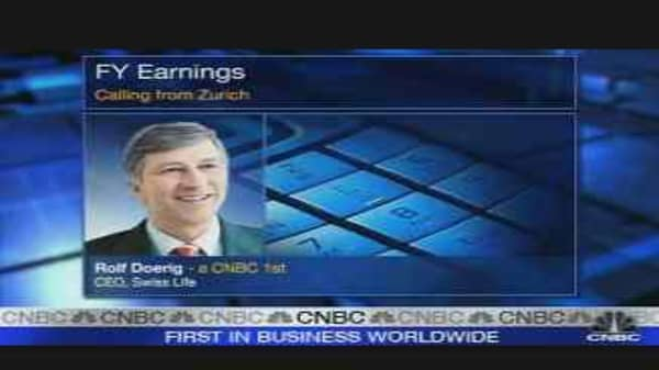 Swiss Life CEO on Earnings