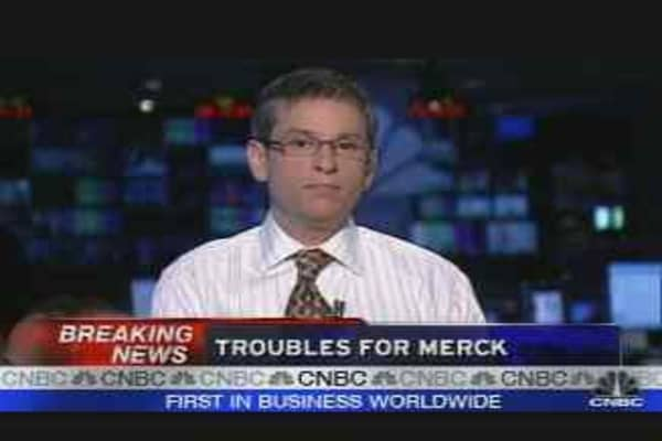 Troubles for Merck