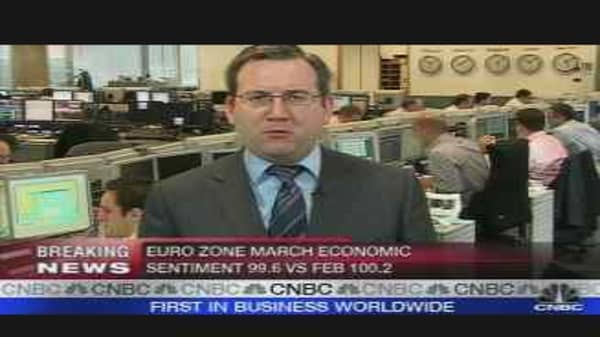 Euro Zone Prices Hit Record High