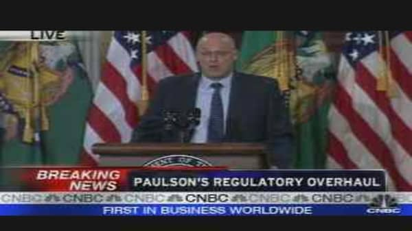 Paulson's Regulatory Overhaul