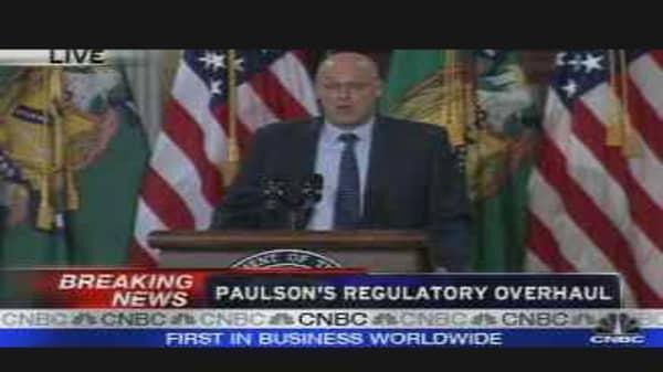 Paulson's Regulatory Overhaul