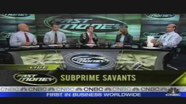Subprime Savant
