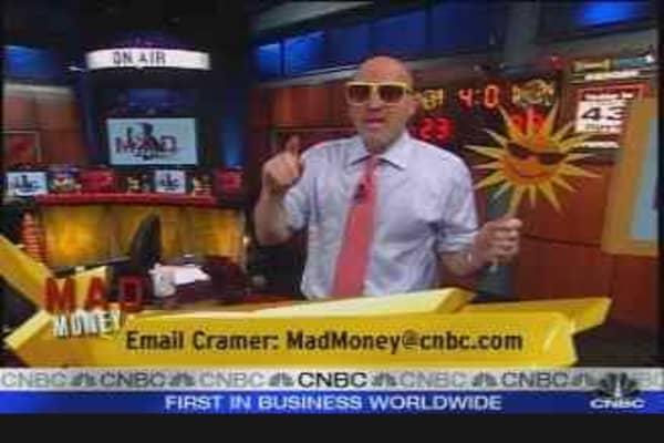 Cramer's Solar Flare
