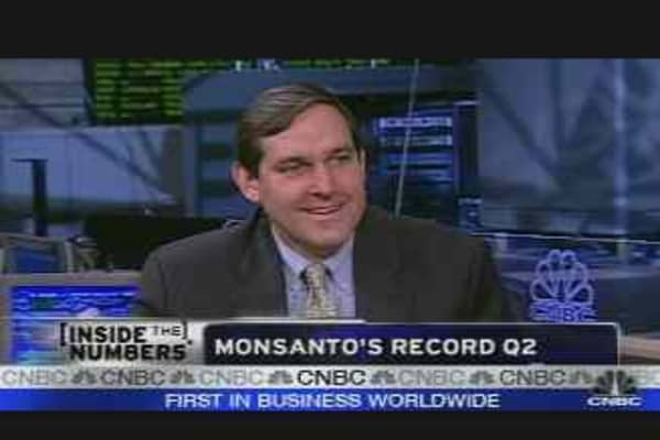 Monsanto Earnings