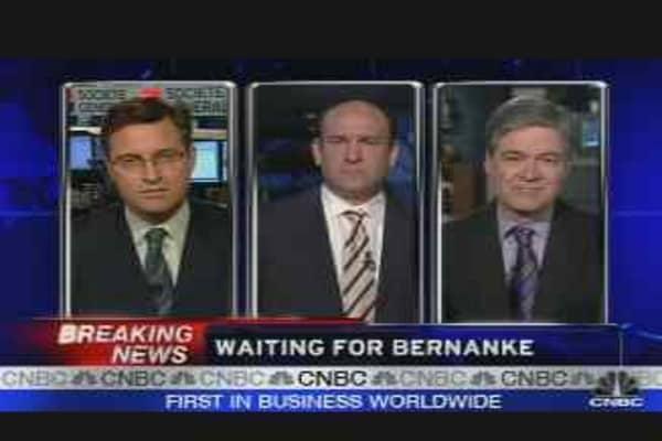 Waiting on Bernanke