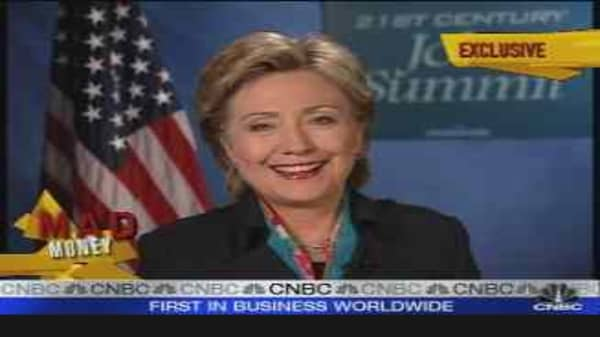 One-on-One With Hillary Clinton