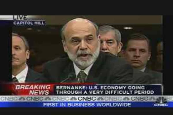 Bernanke on JPMorgan-Bear Stearns