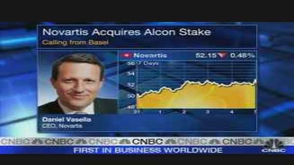 Novartis Buys Nestle's 25% Stake in Alcon
