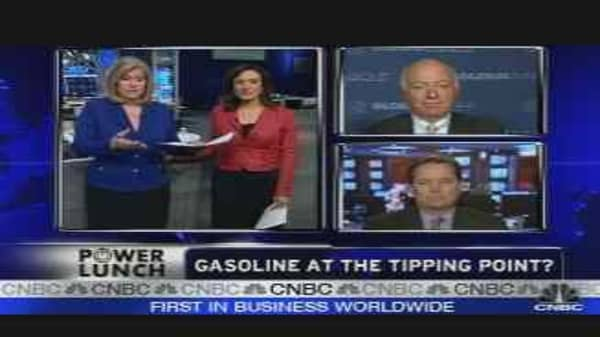 Gasoline Tipping Point