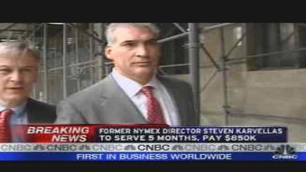 Ex-Nymex Director Pleads Guilty