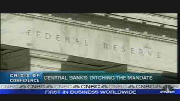 Central Banks: Ditching the Mandate