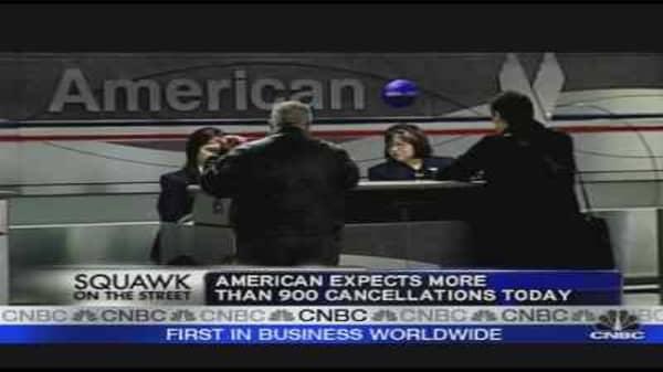 AMR Cancels More Flights