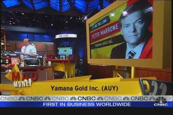 AUY CEO on Gold