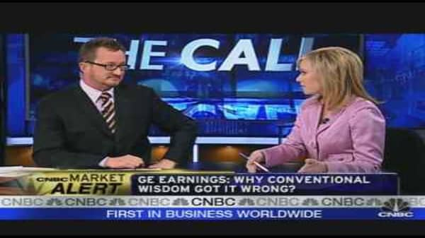Dissecting GE's Earnings