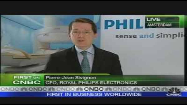 Philips CFO Stays Positive