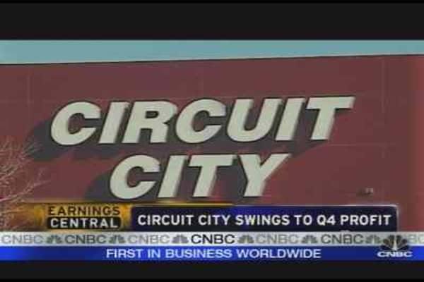 Circuit City Surprises the Street