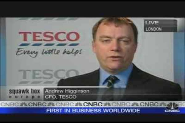 Tesco Shakes Off Retail Gloom
