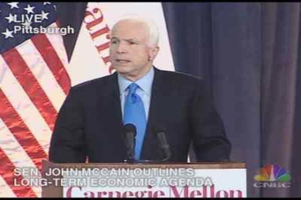 McCain's Economic Agenda