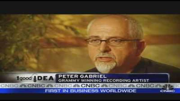 Peter Gabriel's Internet Genesis