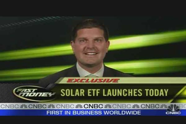 Solar ETF Launches