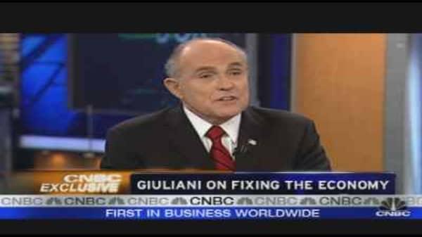 Giuliani on Fixing the Economy