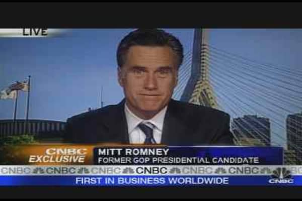 Romney Stomping for McCain
