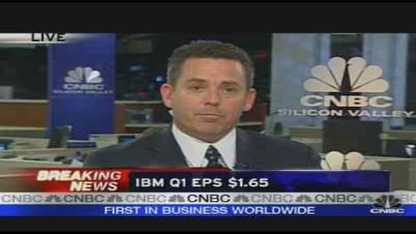 IBM Reports Earnings