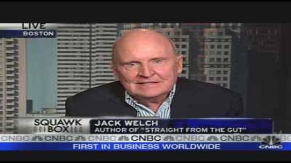 Jack Welch: Straight From the Gut