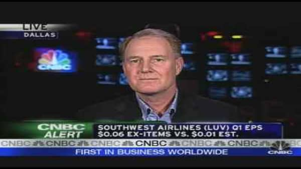 Southwest Earnings