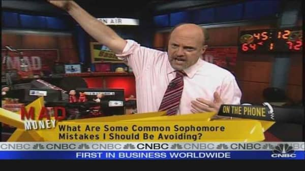 Cramer on Spilt Milk