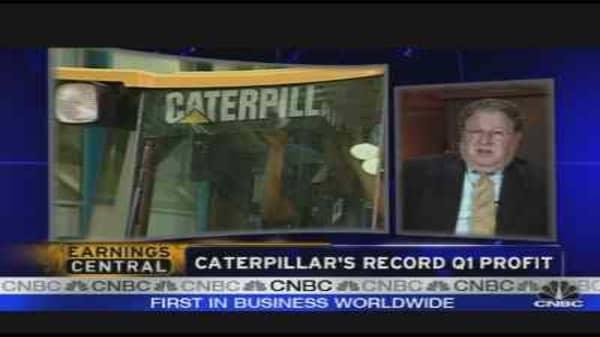 Caterpillar's Record Q1
