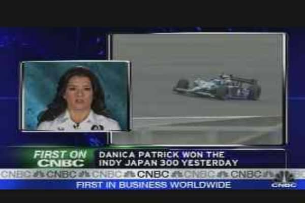 Danica Patrick Makes History