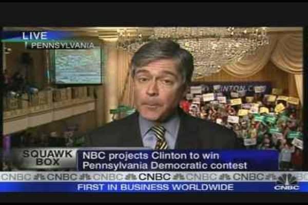 Clinton Wins Pennsylvania