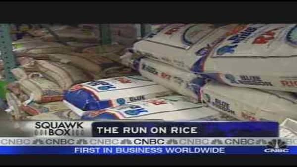 Rice Shortage